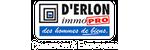 D'ERLON IMMOBILIER - Logo