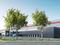 Entrepôt logistique développant une surface totale de 23 312 m²