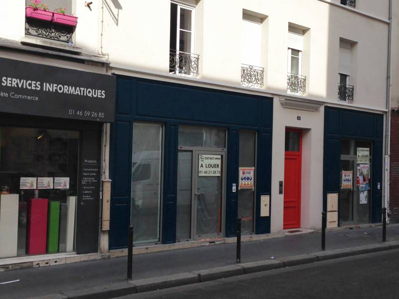 Location commerces paris 11 75011 52m2 for Location local commercial atypique paris