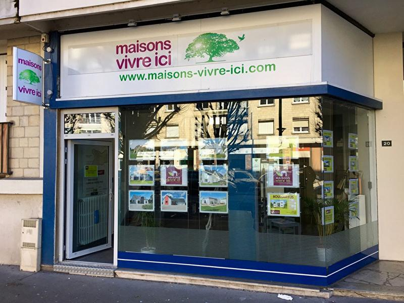 Local commercial Caen 55 m² - Photo 1