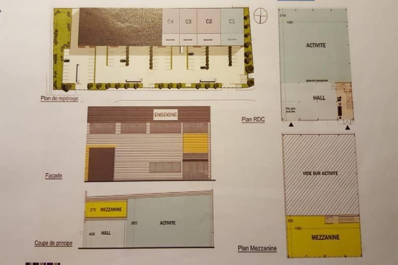 Location entrep t salon de provence 13300 715m2 - Location garage salon de provence ...