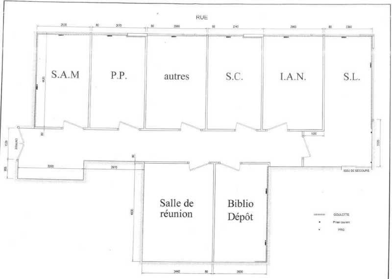 location vente bureaux colombes 92700 266m2. Black Bedroom Furniture Sets. Home Design Ideas