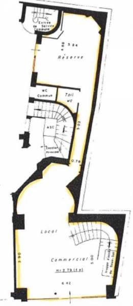 Location locaux commerciaux paris 75006 240m2 for Locaux commerciaux atypiques paris