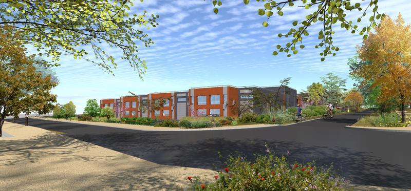 Locaux d'activités à partir de 171,5 m² GROSLAY - Photo 1
