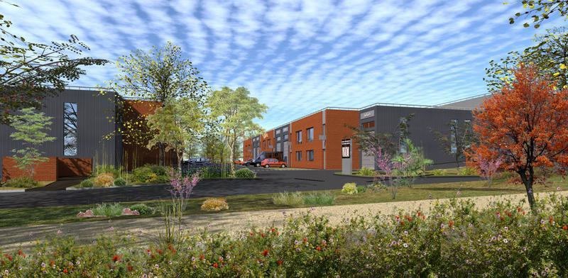 Locaux d'activités à partir de 209,5 m² GROSLAY - Photo 1