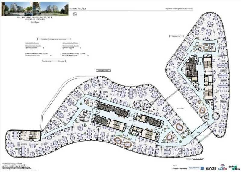 location bureaux locaux commerciaux la garenne colombes 92250 82m2. Black Bedroom Furniture Sets. Home Design Ideas