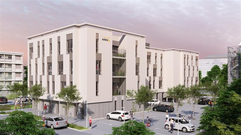 Environ 2 900 m² (parties communes comprises) de bureaux neufs divisibles - Photo 1
