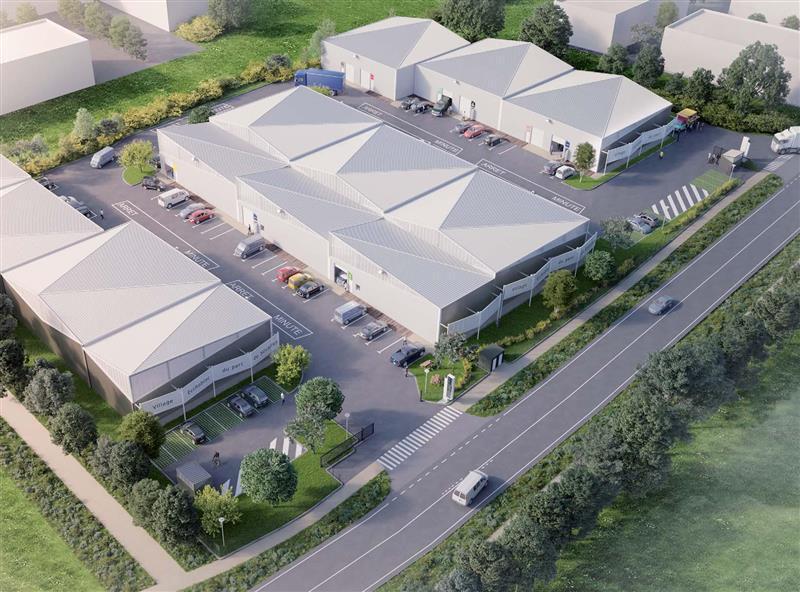 ECCHOBLOC - Location / Vente Locaux d'activités 1250 m² divisibles, Rennes nord-est - Photo 1
