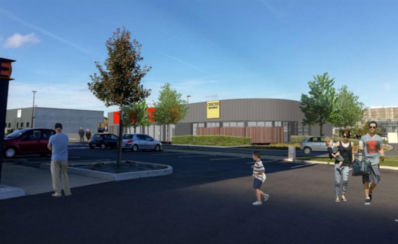 A louer / à vendre au sein d'un immeuble neuf un espace de 300 m² à destination de bureaux ou commerce - Photo 1