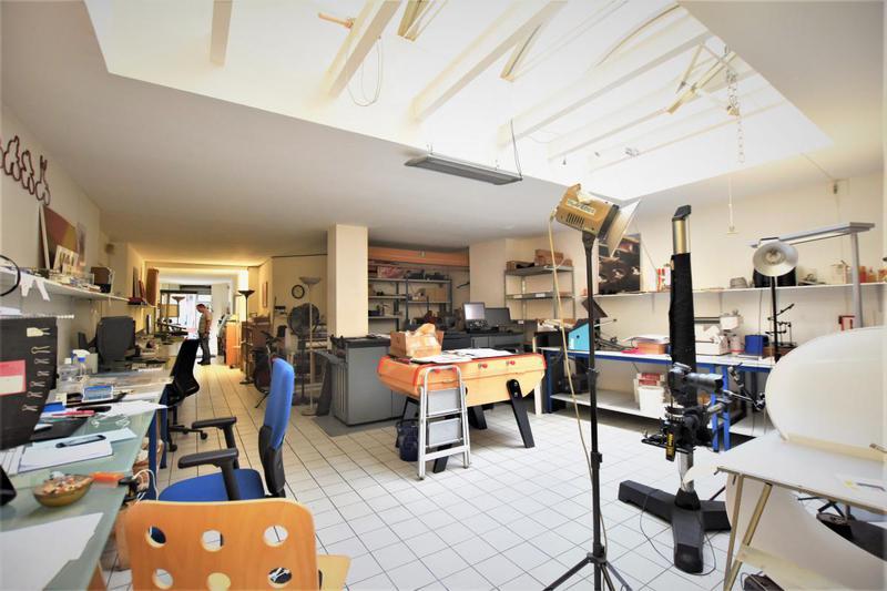Boutique avec Verrière quartier Batignolles SANS PAS DE PORTE - Photo 1