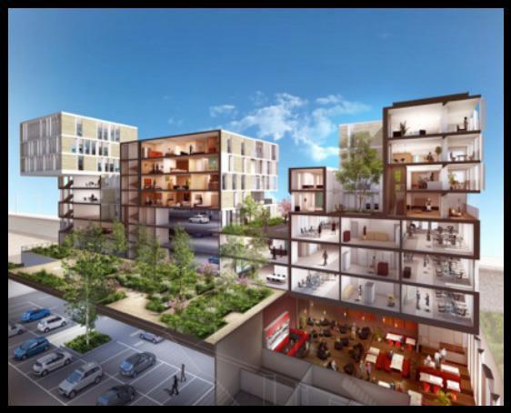 'LE K3' - A LOUER Bureaux neufs HQE BBC de 240 m² avec terrasse à Lyon 2 - Photo 1