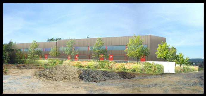 A VENDRE - Cellules d'activité de 992 m² div. à partir de 96 m² à Limas - Photo 1