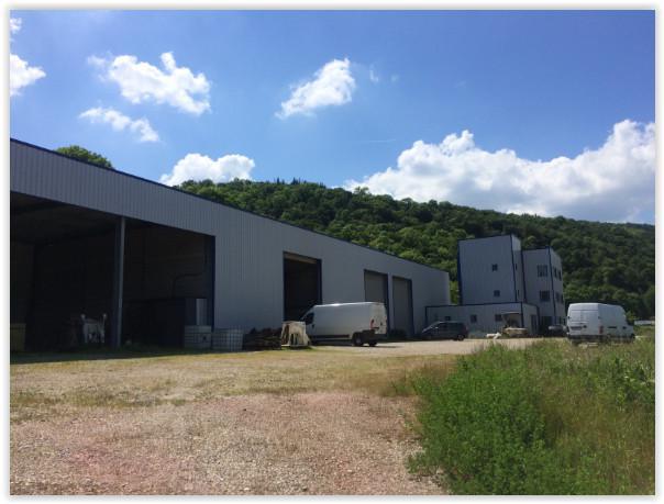 A VENDRE / A LOUER Local d'activité de 1 352 m² sur terrain de 18 000 m² à Saint Romain en Gal - Photo 1