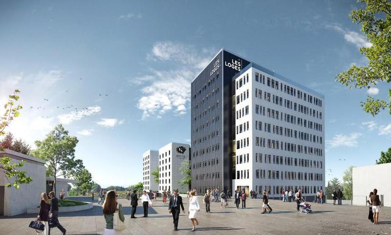 'LES LOGES' - A LOUER 3 921 m² de bureaux div. à partir de 150 m² à Décines - Photo 1