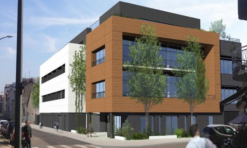 'Le 380' - A LOUER 1 209 m² de bureaux divisibles à partir de 241 m² à Villeurbanne - Photo 1