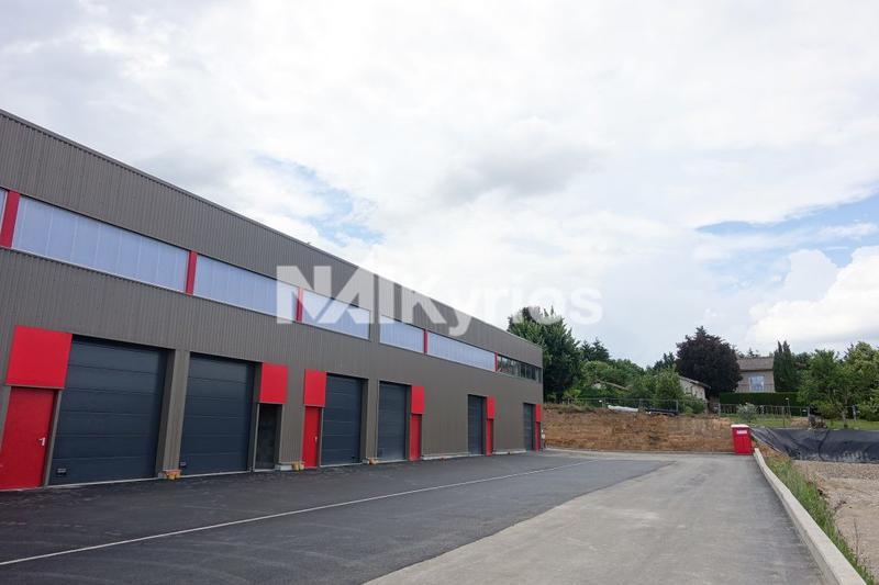 A VENDRE - Cellules d'activité de 114 m² à Limas - Photo 1