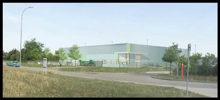 'LES SPOTS' A LOUER/A VENDRE - 8 cellules d'activités de 750 m² d'une surface totale de 6000 m² à Saint Vulbas - Photo 1