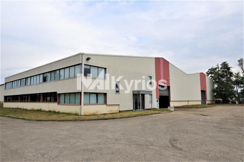 A VENDRE/A LOUER - Local d'activité de 3 726 m² sur terrain de 8 814 m² à Corbas - Photo 1