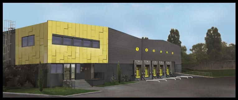 A VENDRE / A LOUER - 9 000 m² de Locaux d'activités divisibles sur terrain de 20 200 m² à Décines - Photo 1