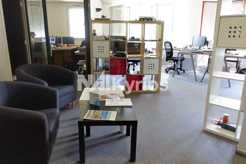 LES JARDINS D'ENTREPRISE - A LOUER  220 m² de bureaux divisibles à partir de 110 m² à Gerland - Photo 1