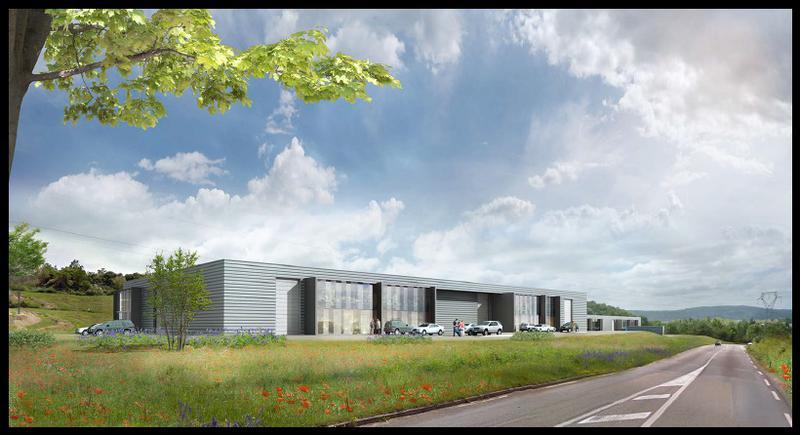'VAL DE CHARVAS' -  A VENDRE 6 522 m² de Locaux d'activité neufs divisibles à partir de 230 m² à Communay - Photo 1