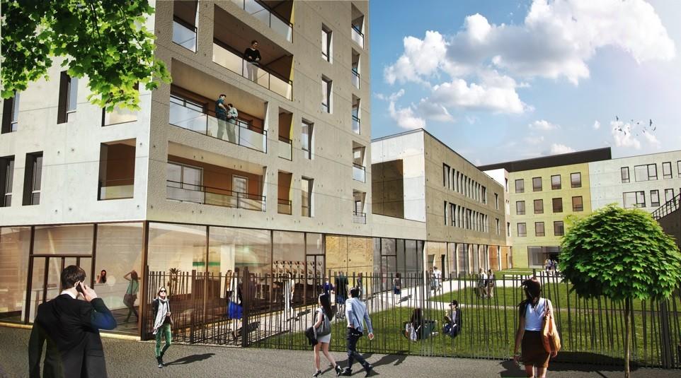 'AMASIS' - A VENDRE/A LOUER 900 m² de bureaux div. à partir de 428 m² à Lyon 9 - Photo 1