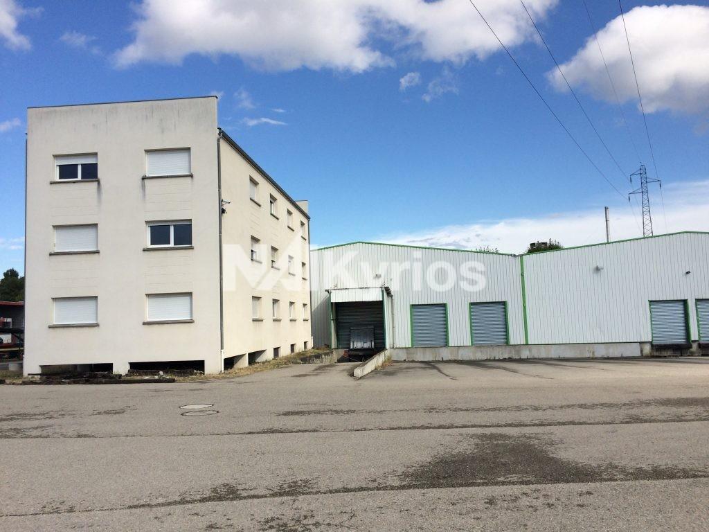 A LOUER - Entrepôt de 1 500 m² avec 3 500 m² de stockage extérieur, divisibles à partir de 500 m² à Chasse / Rhône - Photo 1