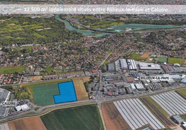 A VENDRE - Terrain constructible de 17 500 m² pour la construction d'un bâtiment 'clés en main' à Rillieux-la-Pape - Photo 1