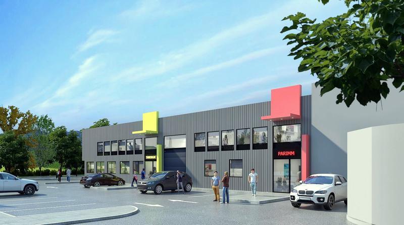 Nord -Est de Lyon, bureaux avec local d'activité - Photo 1
