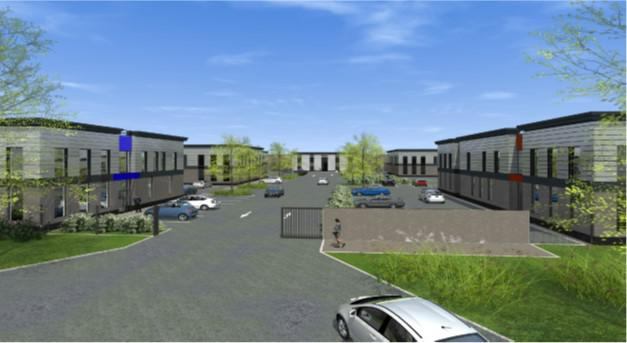Bâtiment indépendant de standing avec terrain et parking privé - A vendre - Photo 1