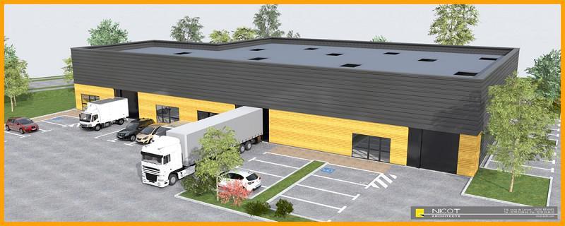 Vente local d'activités à partir de 170 m² - Photo 1