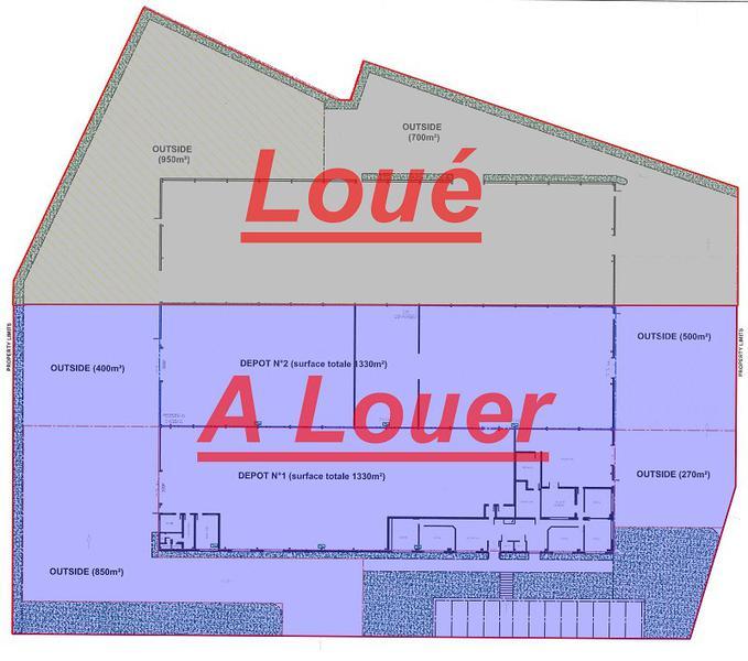 Beauvais, Z.A.C de ther proche autoroute A16 bâtiment de stockage d'environ 2660 m² - Photo 1