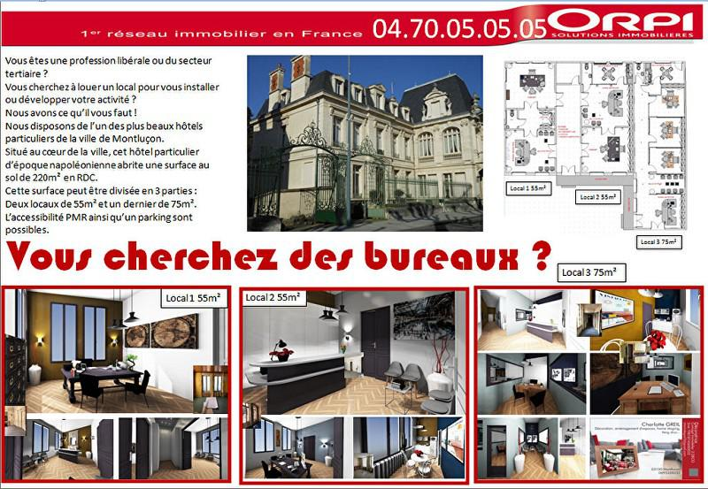 Bureaux Montlucon 220 m2 - Photo 1