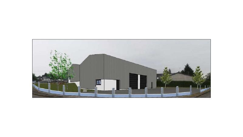 Au Nord de Rennes, au coeur d'une ZA dynamique, un local d'activités neuf d'environ 250 m² - Photo 1
