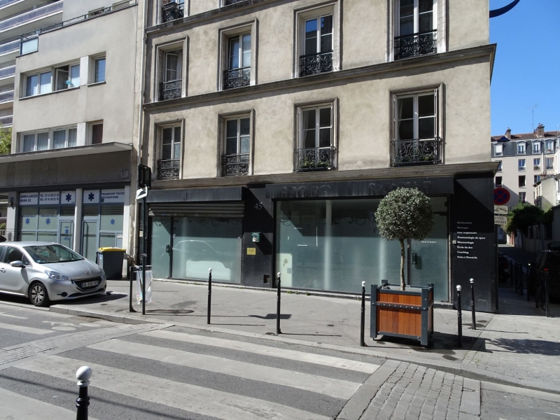 Boutique, bureaux sans reprise