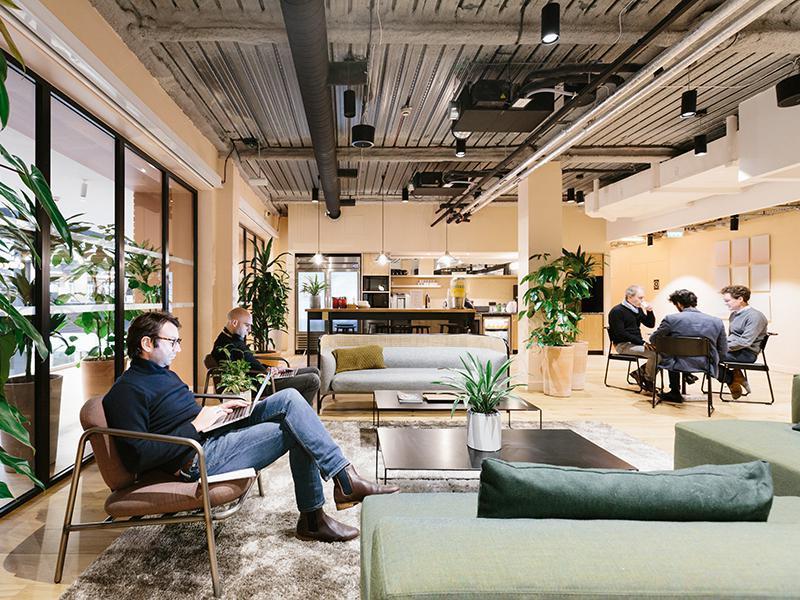 Wework agences immobilier professionnel paris