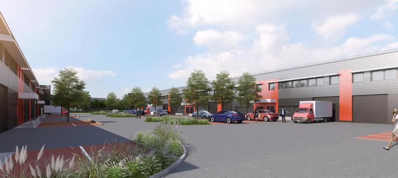 ELANCOURT, à vendre entrepôts et bureaux neufs de 150m² à 495m², accès direct N12 - Photo 1