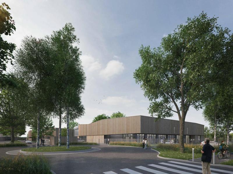 A vendre bâtiment neuf et indépendant de 1617m² d'activités et bureaux sur 5300m² de terrain - Photo 1