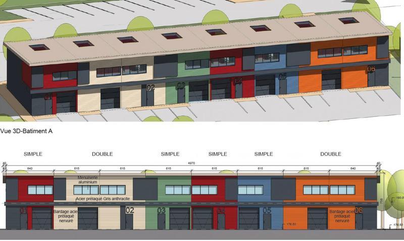 A vendre entrepots et bureaux neufs à partir de 196 m² - Photo 1