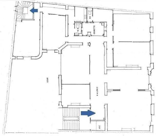 vente bureaux paris 16 75016 249m2. Black Bedroom Furniture Sets. Home Design Ideas