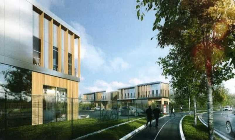 A vendre 376 m² de locaux d'activités avec bureaux - PROGRAMME NEUF - à Frépillon - Photo 1