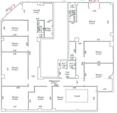 Bureau d'angle 400 m2 à louer - Photo 1