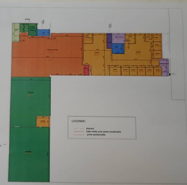 Bureaux et stock expo de 1600 m² - Photo 1