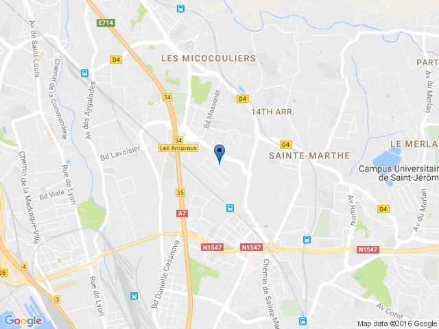 Entrepôts MARSEILLE 13014