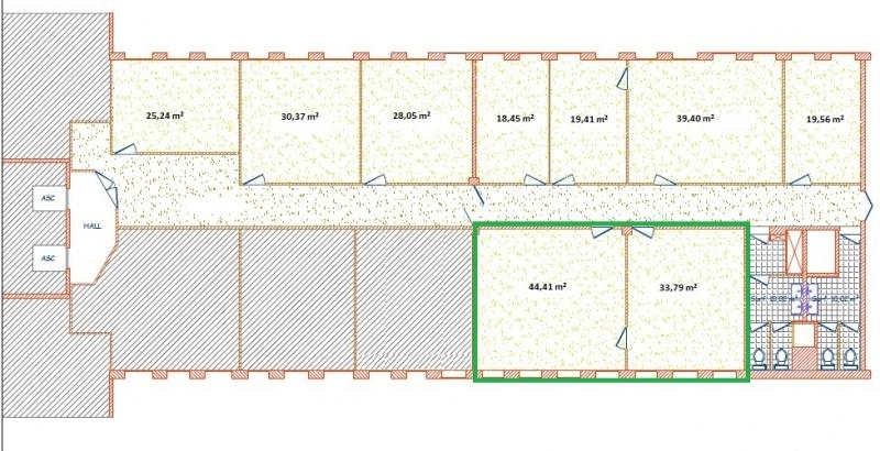 location bureaux montigny le bretonneux 78180 57m2. Black Bedroom Furniture Sets. Home Design Ideas