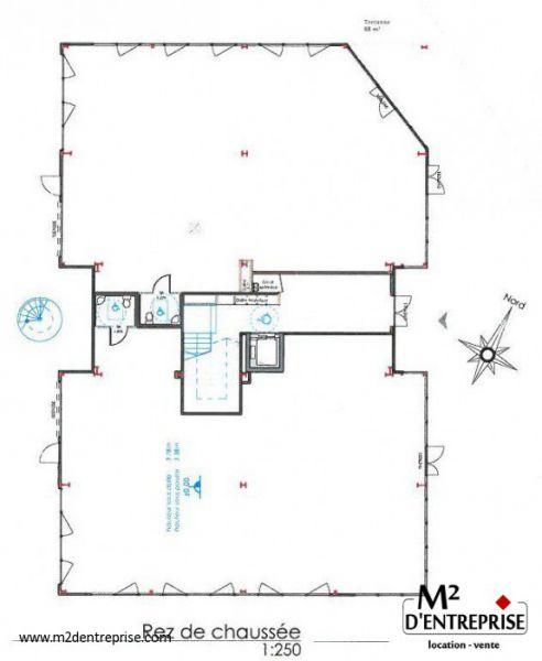 location bureaux chasse sur rh ne 38670 266m2. Black Bedroom Furniture Sets. Home Design Ideas