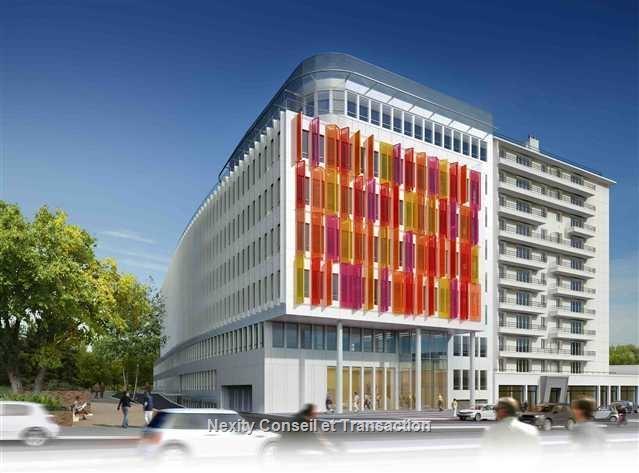 Achat bureaux val de marne vente immeuble ind pendant for Immeuble bureaux hqe