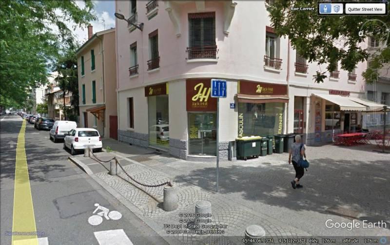 LYON8 route de Vienne  Local commercial