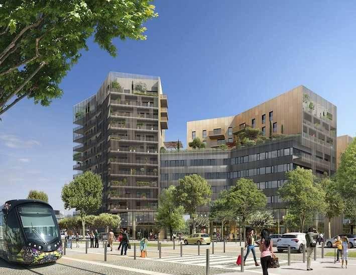 Achat bureaux millenaire parc eureka vente bureau for Montpellier 34000