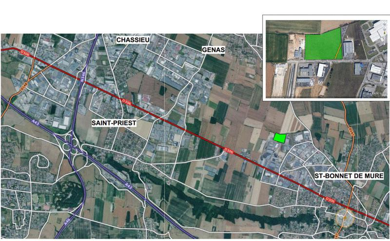 Terrain - Terrain - Saint-Bonnet-de-Mure 69 - Photo 1